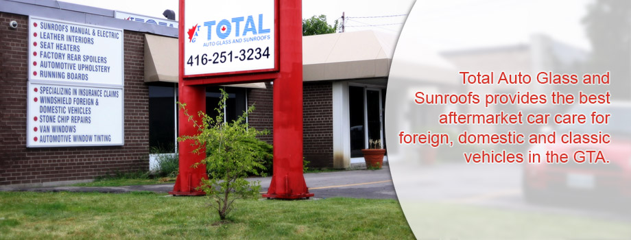 Total Auto Glass & Sunroofs